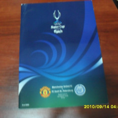 Program Manchester United - Zenit St. Petersburg - Program meci