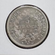 5 franci 1875, Europa, Argint