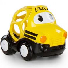 Go Grippers - Masinuta Vesela Autobuz Scolar - Jucarie pentru patut Bright Starts