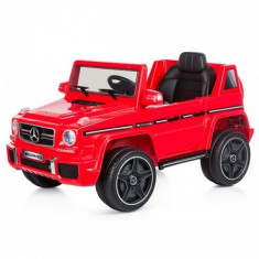 Masinuta Electrica SUV Mercedes Benz G63 2017 Red - Masinuta electrica copii Chipolino