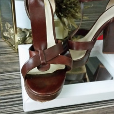 Sandale cu platforma Dolce&Gabbana