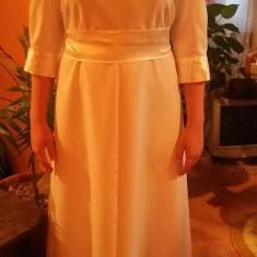 Rochie de botez in apa, marimea 38 - 40., Culoare: Alb