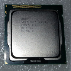 Procesor Intel Core i5-2400 SandyBridge, 3100MHz, 6MB, socket 1155 - poze reale - Procesor PC Intel, Numar nuclee: 4, Peste 3.0 GHz