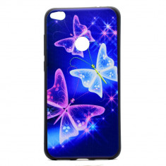 Husa Pretty Butterflies Huawei P9 Lite 2017 - P8 Lite 2017 - Bonus Folie Ecran - Husa Telefon Huawei, Gel TPU