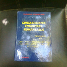 CONTABILITATEA FINANCIARA ROMANEASCA - ATANASIU POP - Carte Contabilitate