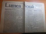 Ziarul lumea noua 30 iulie 1922- 8 ani de la inceputul primului razboi mondial
