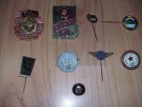 Lot insigne rusesti si romanesti vechi,stare foarte buna
