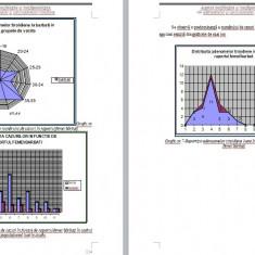 Lucrare de doctorat -statistică - specialitatea morfopatologie, histologie, bio - Curs Medicina
