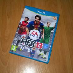 Joc Nintendo Wii U - FIFA 13, joc foarte rar - Jocuri WII U