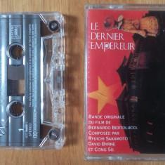 Caseta audio Ultimul Imparat - Bernardo Bertolucci, soundtrack - Muzica soundtrack virgin records, Casete audio