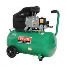 Compresor de aer VAC-2050 Verk, 50 l, 2.0 CP - Compresor electric