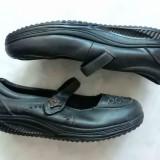 Sandale piele nat. Skechers Shape-Ups While You Walk; marime 41 (28 cm); ca noi - Incaltaminte ortopedica, Culoare: Din imagine