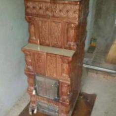 Soba teracota mobila - cadru metalic