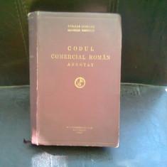 CODUL COMERCIAL ADNOTAT - Stelian Ionescu, Laurentiu Preutescu - Carte Drept comercial