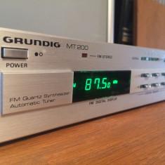 Automatic Tuner/radio GRUNDIG MT200 Stereo - RFG/Vintage/Stare Perfecta - Aparat radio Grundig, Analog