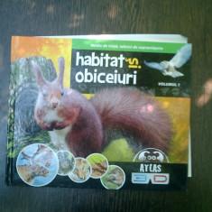 Habitat si obiceiuri volumul 1 - Ilona Bagoly