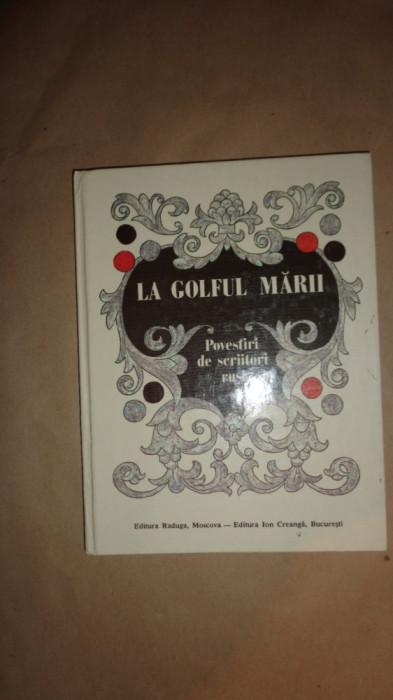 La golful marii / 12 povestiri de scriitori rusi / cu ilustratii /126pagini