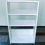 Etajera / Biblioteca / Dulap culoare alba cu 4 polite / rafturi