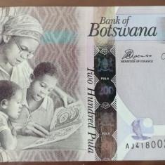 BOTSWANA - 200 Pula 2014 - UNC - bancnota africa