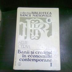 BANII SI CREDITUL IN ECONOMIILE CONTEMPORANE - SILVIU CERNA - Carte despre fiscalitate