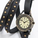 Ceas Vintage Dama Negru #V465 - Ceas dama