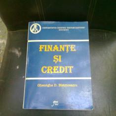 FINANTE SI CREDIT - GHEORGHE D. BISTRICEANU - Carte despre fiscalitate