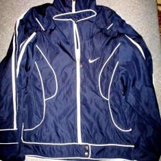 Bluza trening Nike bleumarin 62 cm cu 47 cm - Bluza barbati Nike, Marime: S