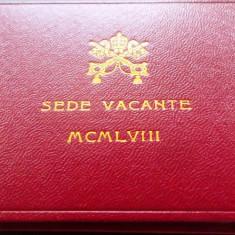 MONEDA ARGINT 500 Lire - VATICAN *cjaCOD 32 UNC - - - IN CUTIE DE PREZENTARE, Europa, An: 1978