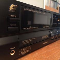 Stereo Cassette Deck SANSUI D-X211HX-R - AutoReverse - Impecabil/Made in Japan - Deck audio