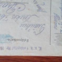 Carti postale cenzuri militare primul razboi mondial Austro-Ungaria