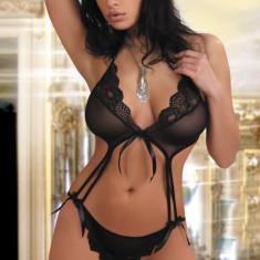 Body Ganesa - Body dama LIVIA CORSETTI, Marime: S/M, Culoare: Negru