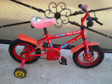 """Fire Chief by Apollo / bicicleta copii 12"""" (2-5 ani)"""