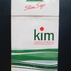 Tigari vechi de colectie: Pachete sigilate Kim, 7 bucati. - Pachet tigari