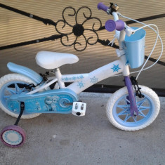 Frozen Blue Bascket bicicleta copii 12