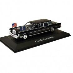Macheta auto Lincoln Continental Limousine -Reagan 1981, 1:43 Norev
