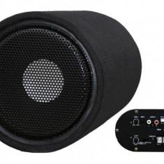 Subwoofer Bass Auto Activ cu Amplificator Incorporat 200W 25cm Voice Kraft VK-1001 + Kit Cabluri Cadou - Subwoofer auto