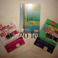 Matematica clasa a 8 a / a VIII-a Editura Teora + materiale Evaluarea Nationala - Manual scolar teora, Clasa 8