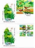 MOLDOVA 1996, FDC, Fauna - Pasari