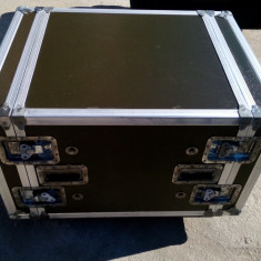 RACK CASE PROFESSIONAL 8U, ANTISHOCK
