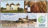 MOLDOVA 2017, Turism, Cetatea Soroca, Orheiul Vechi, serie neuzata, MNH