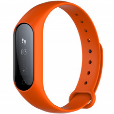 Bratara fitness iUni Y3, Bluetooth, display OLED, Notificari, Pedometru, Monitorizare Sedentarism, Puls, Oxigen sange, Orange