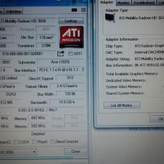 Placa video laptop ATI Technologies ATI HD 3650 512mb/128bit pe slot MXM2 acer aspire extensa