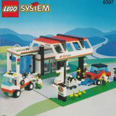 LEGO 6397 Gas N' Wash Express - LEGO City