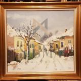 TABLOU, NICOLAE BLEI, MAHALA, U/P, 2012 - 73x80 cm - Pictor roman