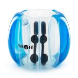 Klarfit Bubball KB Bubble Ball minge pentru copii 75x110cm EN71P PVC 0, 5 mm albastra - Stepper