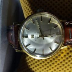 Ceas Aur Solid 18 k >> TISSOT << Seastar Seven - SWISS MADE -Superb Barbatesc - Ceas barbatesc Tissot, Mecanic-Manual