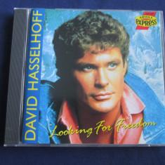 David Hasselhoff - Looking For Freedom _ cd, album _ Ariola (Germania) - Muzica Pop