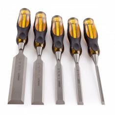 Set 5 dalti pentru lemn Thru Tang FatMax 6 mm 10 mm 15 mm 20 mm si 25 mm STANLEY