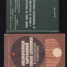 Protectia muncii forestiere 7 carti - Carte Dreptul muncii