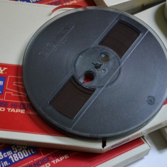Banda magnetofon SONY SLH-7 black, 18cm --raritati--